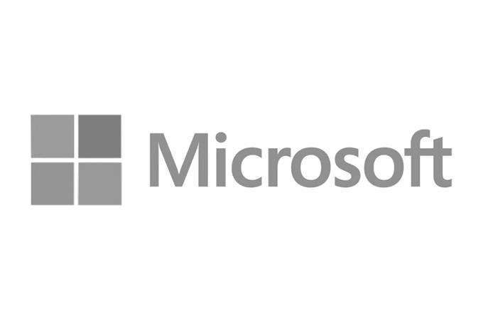 Microsoft - Cinza